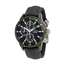 Maurice Lacroix Pontos S Extreme Black Dial Leather Mens Watch PT6028-ALB21-331