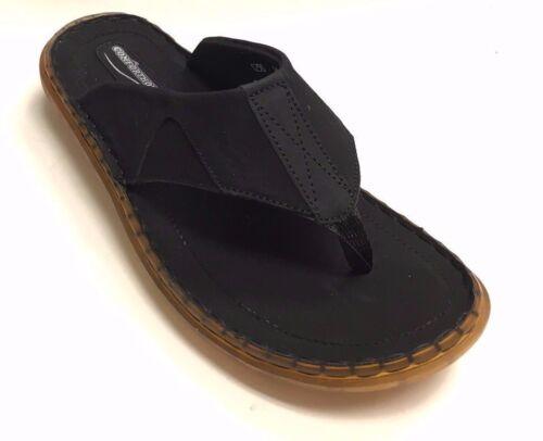 Comforthotics® Men/'s Summer Flip Flop Leather Sandal Orthotic Arch Support 1250