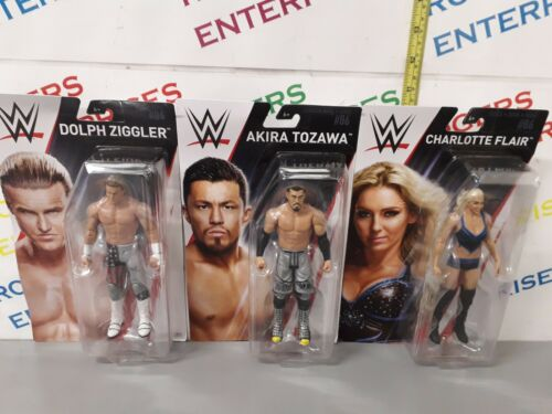 WWE Serie 86 Set completo di tutte le 5 Action Figure FLAIR tozawa Nemeth Roman il Rock
