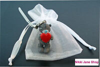 Me To You Bear Red Heart Tatty Teddy Mobile Phone Charm Organza Bag - NEW