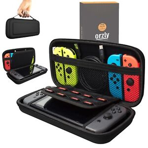 Nintendo-Switch-Hard-Case-Protective-Cover-Carry-Bag-By-Orzly-Black