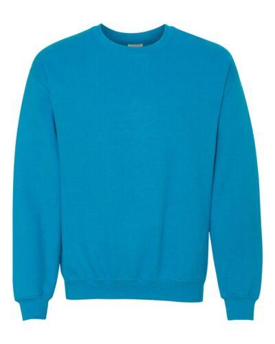 Gildan Mens Pullover Heavy Blend Crewneck Sweatshirt S L M XL 18000
