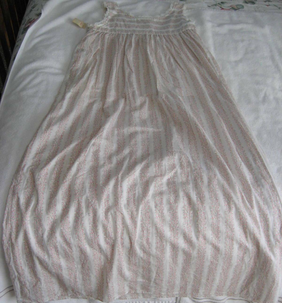 1990s Unworn Eileen West Queen Anne's Lace Nightg… - image 9