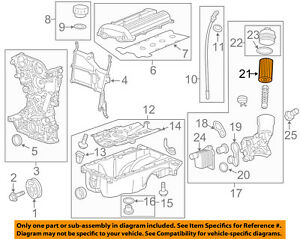 image is loading gm-oem-engine-parts-filter-element-25195785