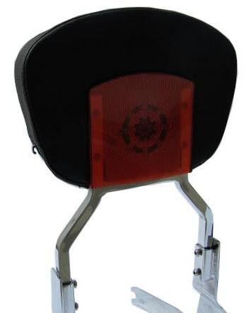 Detachable Sissy Bar w// Backrest for Suzuki Blvd C50 M50 Intruder Volusia VL800