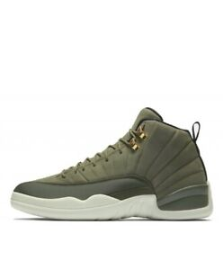 huge selection of bdc23 66a69 Details about Air Jordan 12 Retro CP3 Chris Paul Class Of 2003 Olive Sail  130690-301 Size 6-15