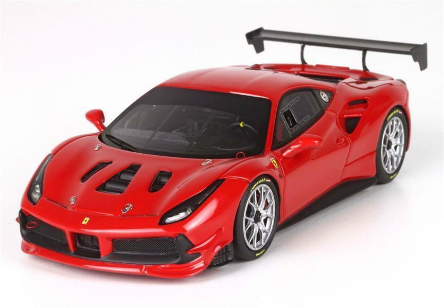 Ferrari 488 Challenge rouge Corsa 1 43 - BBRC 197b BBR