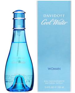 Cool-Water-Davidoff-Women-3-4-oz-100-ml-Deodorant-Spray-NIB