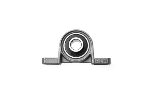 Miniatur Stehlager für Ø 10mm WelleKugellager Pendellager Gehäuselager