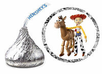 216 Toy Story Jessie Birthday Party Favors Hershey Kiss Labels