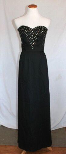 Victor Costa Vintage Dress 80s Black VICTOR COSTA