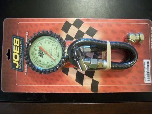 JOES Racing Products 32307 Analog Tire Pressure Gauge 0-60 PSI GLOW IN THE DARK