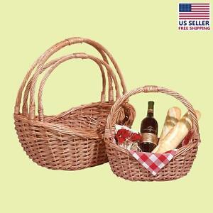 Basket Natural Basket Set of 3 | Renovator's Supply