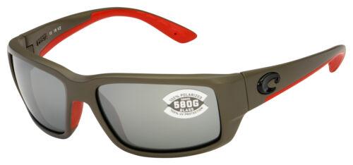 Costa Del Mar Fantail Sunglasses TF-196-OSGGLP GraySilver 580G Polarized