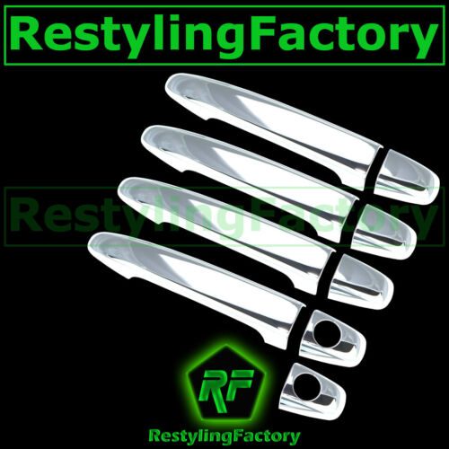 07-11 Toyota Camry Chrome plated 4 Door handle cover Trim Bezel Kit