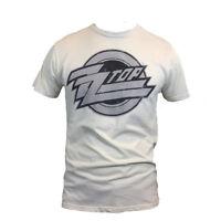 Zz Top Vintage T-shirt Rock Band Music Bravado Graphic Vintage White T Shirt Tee