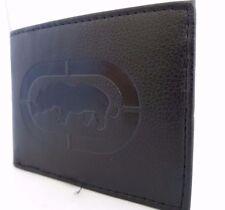Brand New Mark Ecko Men's Wallet Black Genuine Leather Bi-fold 100% Authentic