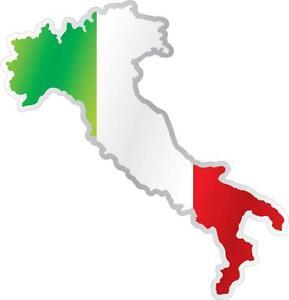AUTOCOLLANT-STICKER-drapeau-ITALIE-ITALIEN-CARTE-Moto-Voiture-ADHESIF