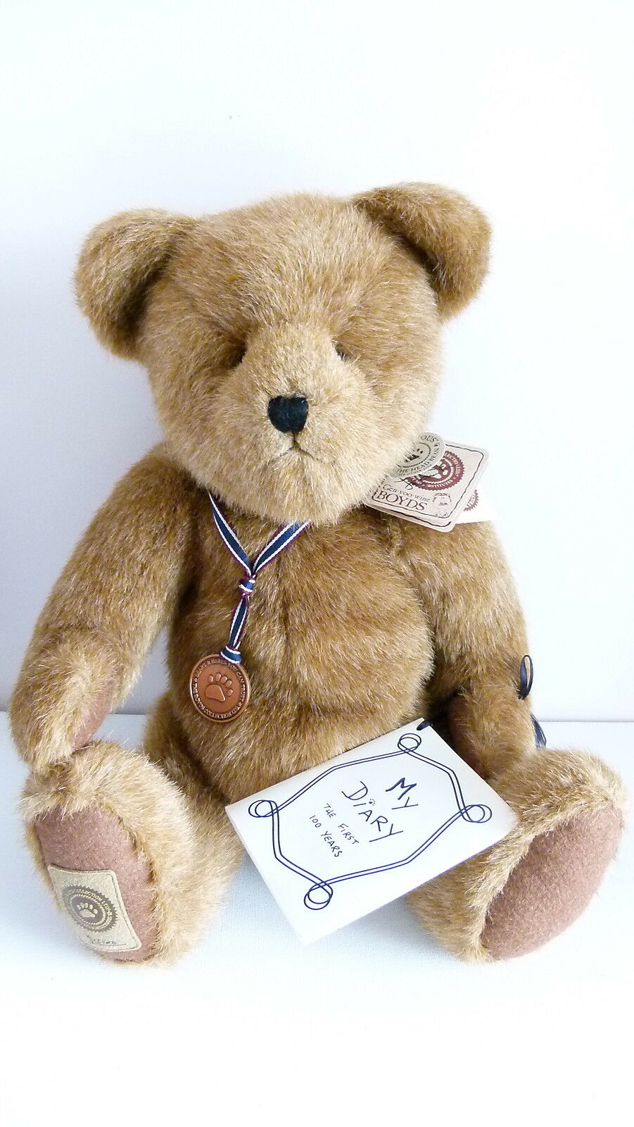 Boyds Bears - Theodore - 100th Anniversary Collector's Collector's Collector's Edition -  900300 2f1b91