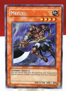 Yu-Gi-Oh! Mezuki PP02-EN016 - Secret Rare NM Mint YuGiOh Card