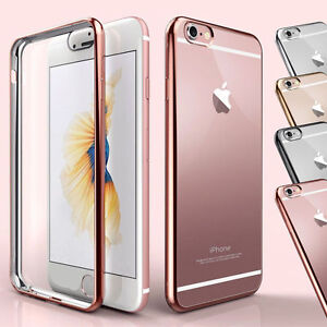NEW-For-Apple-iPhone-6-6-7-7-TPU-Gel-Jelly-Skin-Case-Cover-Crystal-Clear