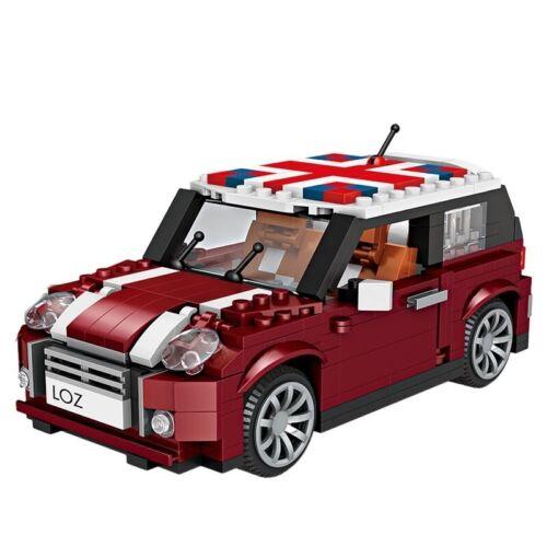 NEW 492Pcs Mini Blocks Technic Creator Racing Car Model Building Blocks Bricks