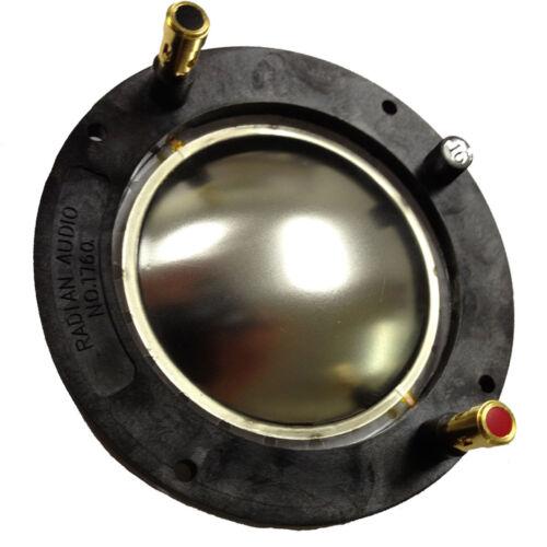 Radian 1760PB Diaphragm 745Neo-PB 760Neo-PB HF Drivers Aluminum Alloy Dome 8 ohm