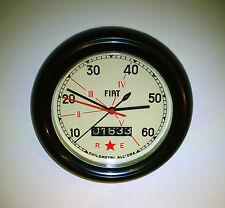 Fiat Speedometer Style Wall Clock 1940's Style, 500, 600, Topolino, Torpedo