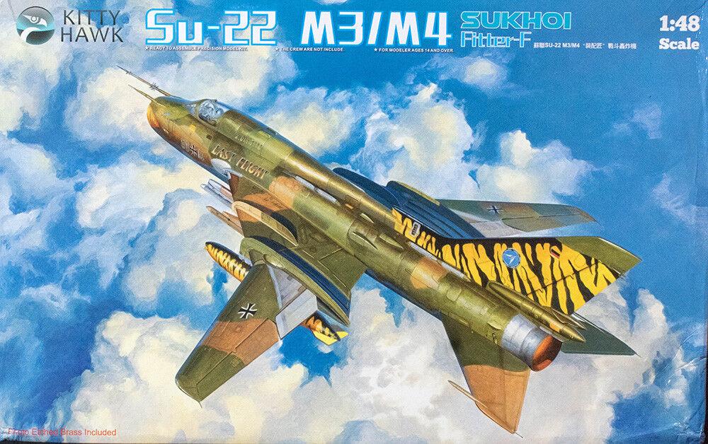 1 48 Kitty Hawk Su-22M3 M4 Suhkoi Fitter F
