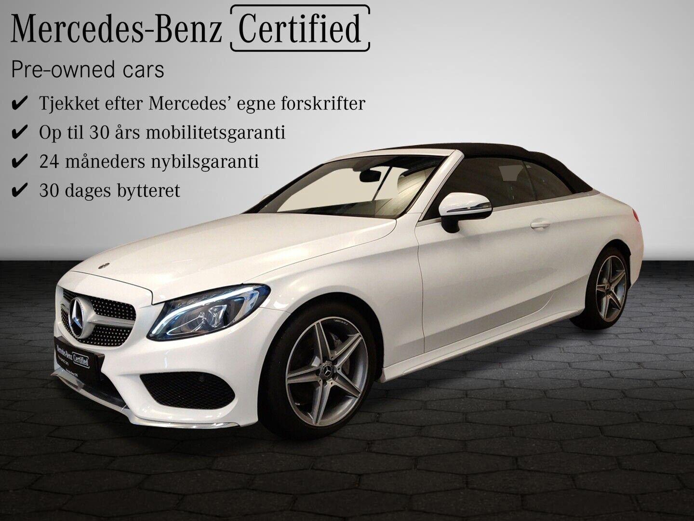 Mercedes C220 d 2,2 Cabriolet aut. 2d - 629.900 kr.