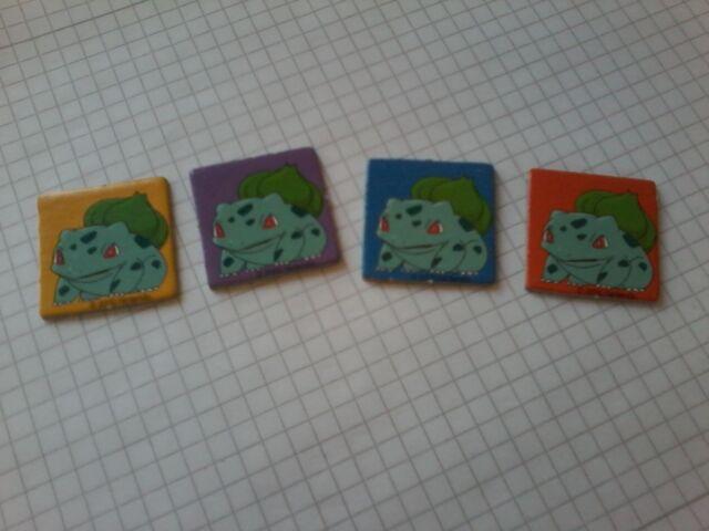 pokemon yahtzee junior Chips, Ersatz Ersatzteil - !!! nur Chips Bisasam !!!