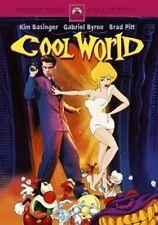 JANNI BRENN,GABRIEL BYRNE KIM BASINGER - COOL WORLD   DVD NEU RALPH BAKSHI