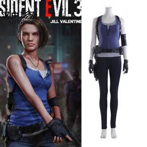 Hzym Resident Evil 3 Remake Jill Valentine Cosplay Costume Full