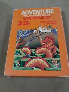 ADVENTURE for ATARI 2600 (1980)▪︎CIB ▪︎FREE SHIPPING ▪︎