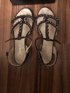 Chanel Sandals 36.5 | eBay