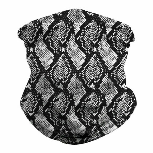 Multi-Purpose Bandana Face Cover Neck Warmer Dust Shield Snood Scarf Hair Band