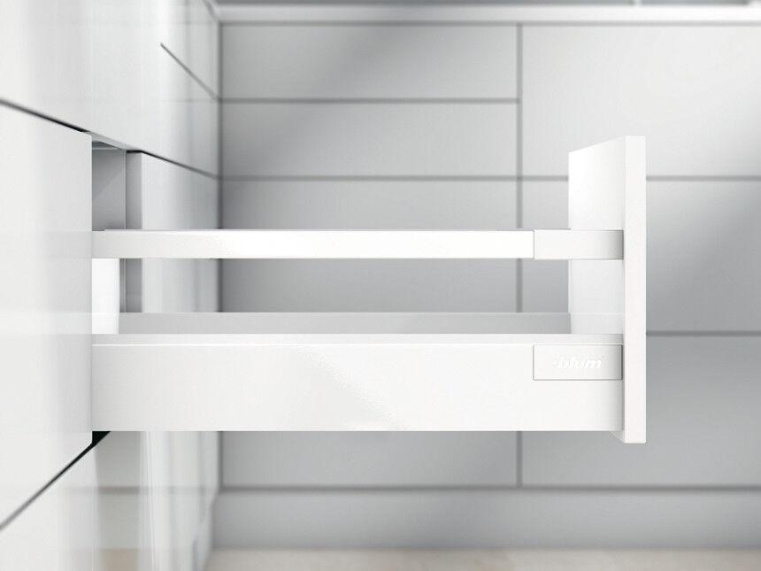 Blaum Set Set Set TANDEMBOX antaro C BlauMOTION NL450mm MPB196mm 30kg seidenweiß | Leicht zu reinigende Oberfläche  | Guter weltweiter Ruf  c26295