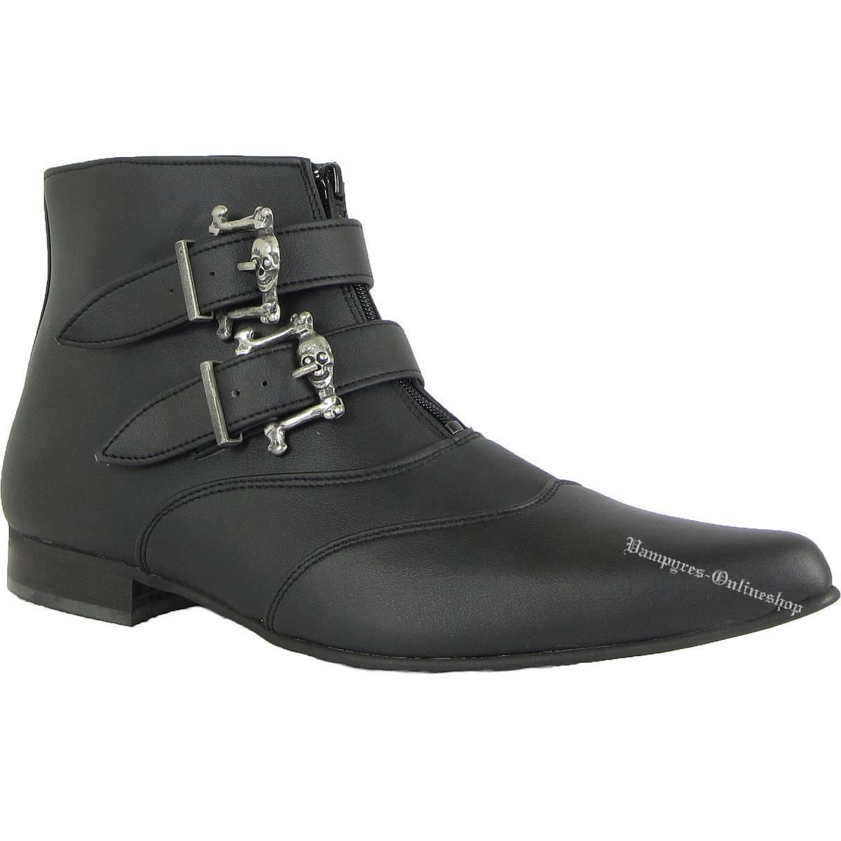 aad9b1dab454e8 Boots & jambes 2 boucles Pikes Vegetarian Bottes Noir Noir Noir Winkelpiker  and Noir | Une Bonne Conservation De Chaleur bcd8dc