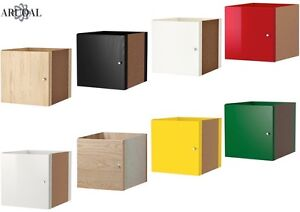 Ikea Kallax Insert With Door Various Colours 33 X 33 Cm Ebay