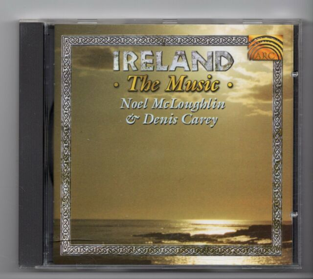 (JG963) Noel McLoughlin & Denis Carey, Ireland The Music - 1996 CD