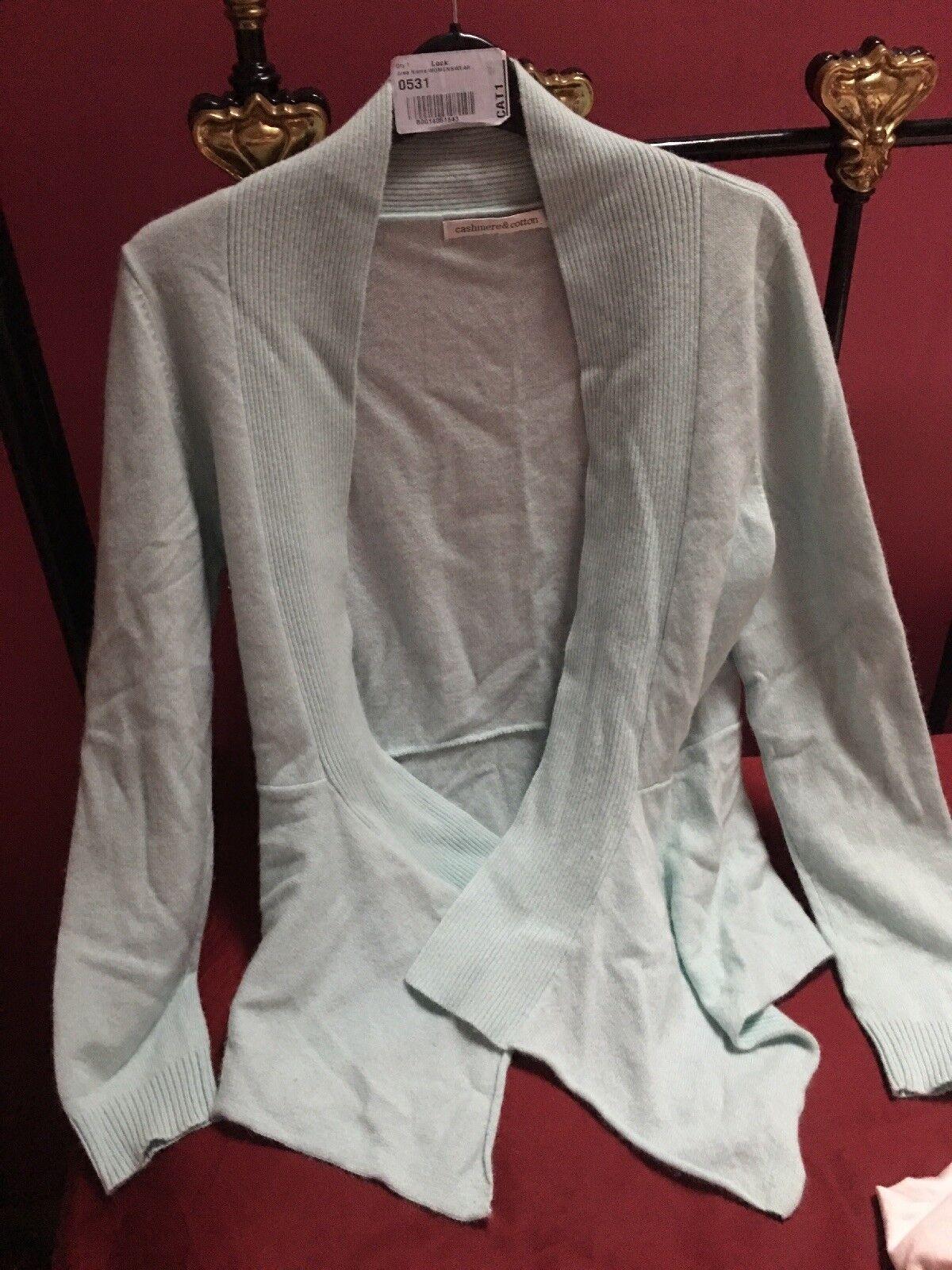 Cashmere & Cotton Pure Cashmere Cardigan Size 12 Excellent