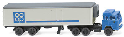 """Nh 02/2018 """" Coop """" 1:160 Wiking 095199 Cold Trailer Box magirus n"""