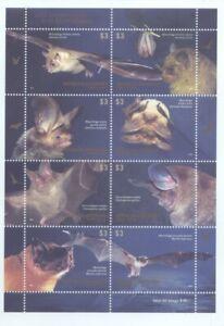 2012 Argentina Internationales Jahr der Fledermaus Block MNH