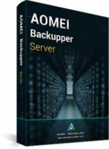 AOMEI Backupper Server + Free Lifetime Upgrades - Authorised Seller