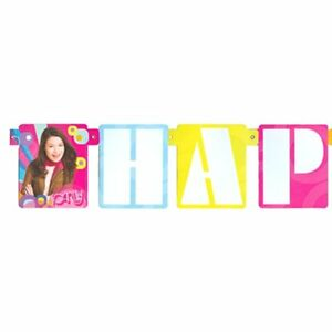 Icarly Happy Birthday Banner Party Supplies Hanging Decorations