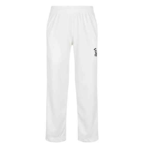 Kookaburra Kids Boys Cricket Trousers Juniors Pants Bottoms Loose Fit Stretch