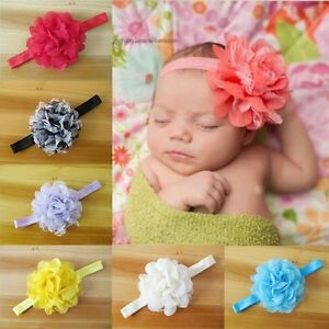 15-Colour-Cute-Baby-Girl-Kids-Big-Flower-Chiffon-Hair-Band-Soft-Elastic-Headband