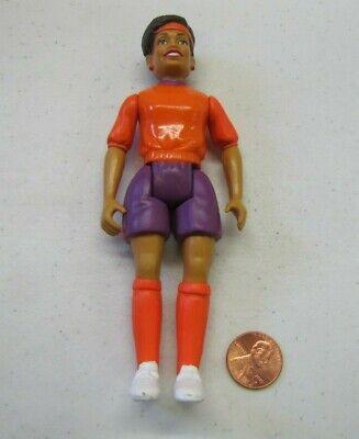 "PLAYSKOOL Dollhouse 5.75/"" WOMAN DOCTOR NURSE MOM People Doll Poseable 1994 Rare"