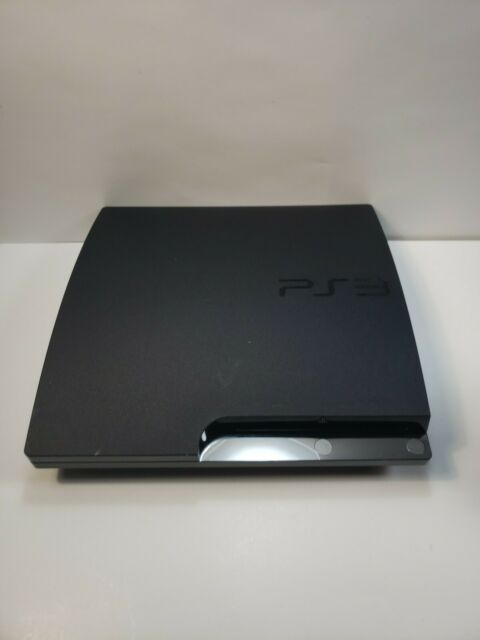 Sony PS3 Slim 160GB CECH-2501A Console For Parts or Repair Only