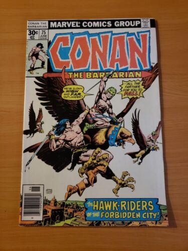 Conan The Barbarian #75 ~ NEAR MINT NM ~ 1977 Marvel Comics